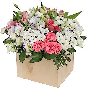 Букеты на заказ с доставкой недорого санкт-петербург где купить подмосковные цветы